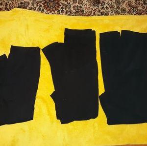 Pants - 3 pairs Maternity leggings Large